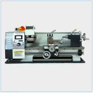 Image 2 - Brushless Motor Metal Lathe 2500RPM 750W Mini Bench Lathe Variable Spindle Speed Lathe Machine for Mini Precision Parts Process