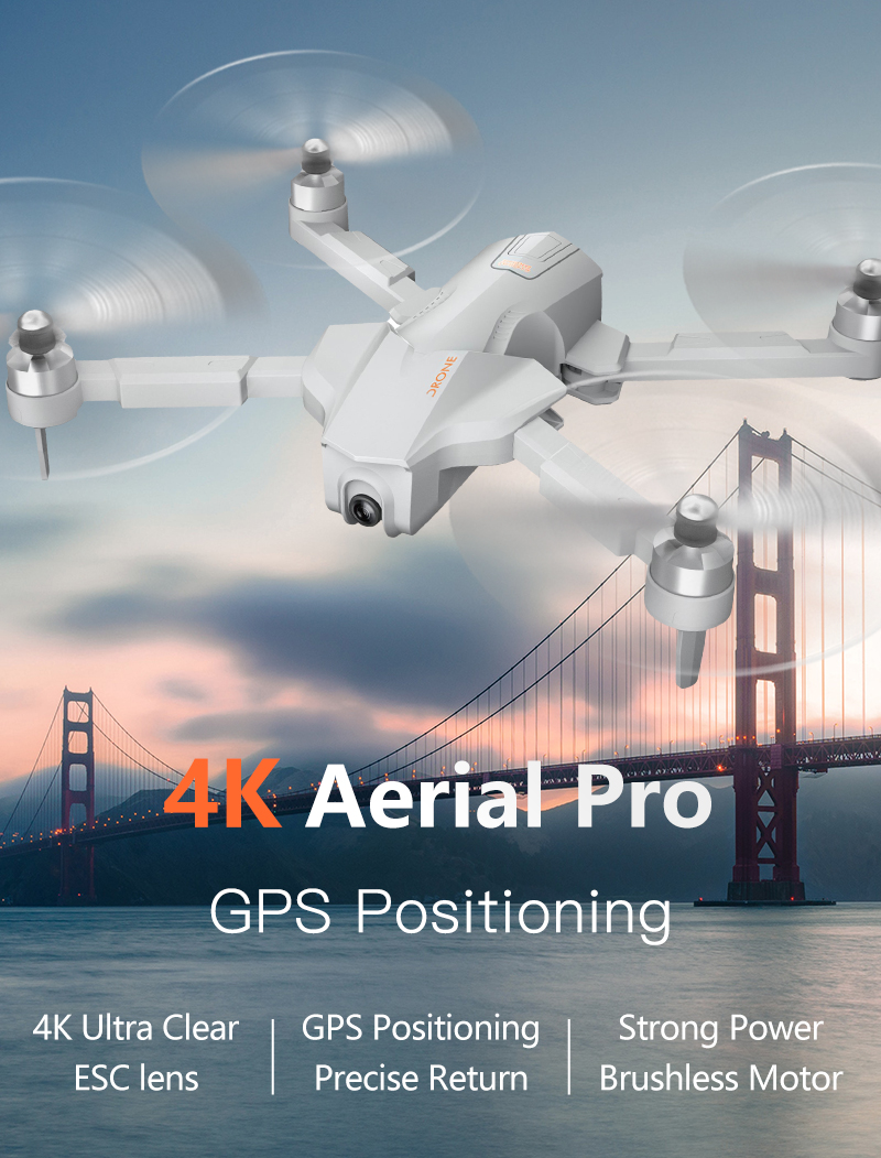 4K GPS Drone with Wifi FPV HD Camera Brushless Quadcopter For Long Flying Time 6