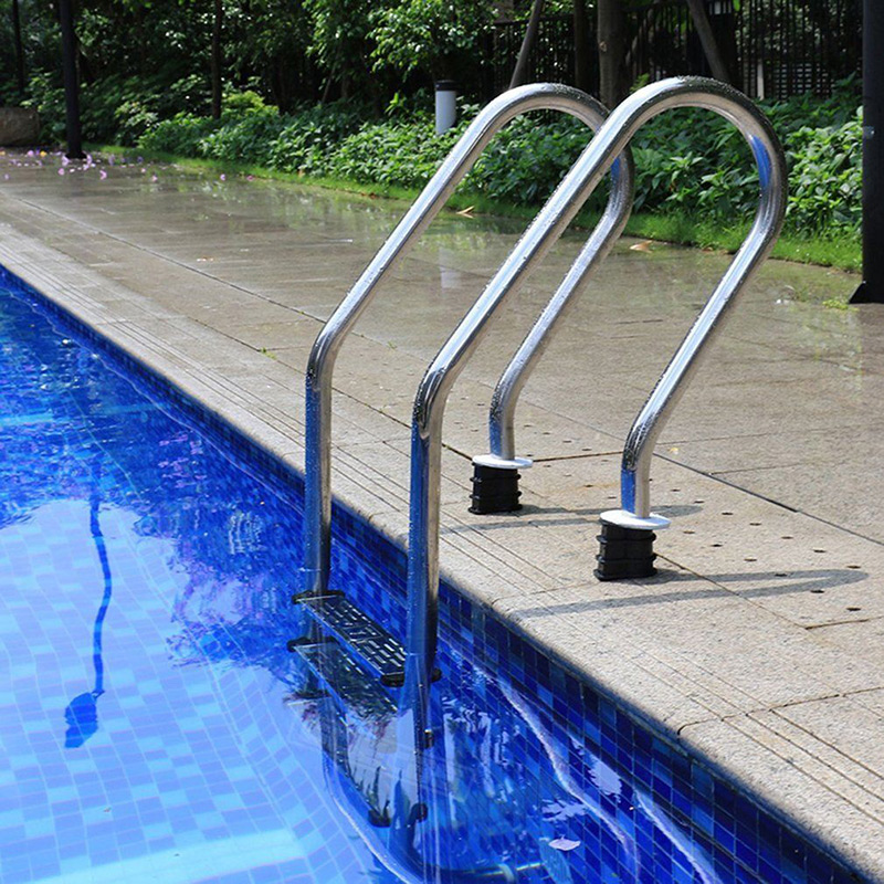 Ladder Swimming Pool Step Hand Rail Footsteps Stainless Steel Rung Accessories