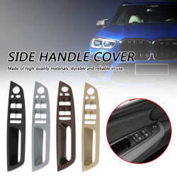 Driver Side Interior Door Handle Panel Cover Left Front for BMW X5 E70 2006-2013 X6 E71 2008-2014