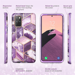 Image 4 - I BLASON Cosmo For Samsung Galaxy S20 Plus 5G Case Full Body Glitter Marble Bumper Cover Case WITHOUT Built in Screen Protector