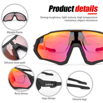Riding Cycling Sunglasses Mtb Polarized Sports Cycling Glasses Goggles Bicycle Mountain Bike Glasses Men s