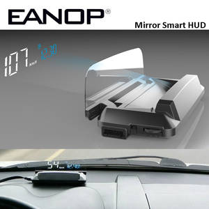 EANOP Car-Detector-Oil-Consumption Speedometer Mirror Hud Head-Up-Display Car-Speed-Projector