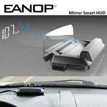 EANOP M20 Specchio HUD Head Up display Auto HUD OBD2 di Velocità Auto Proiettore KMH MPH Tachimetro Auto Rilevatore di Consumo di Olio