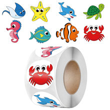 Autocollants étoiles de mer, étiquette de récompense pour enfants, Scrapbooking, décoration, papeterie, 50 à 500 pièces