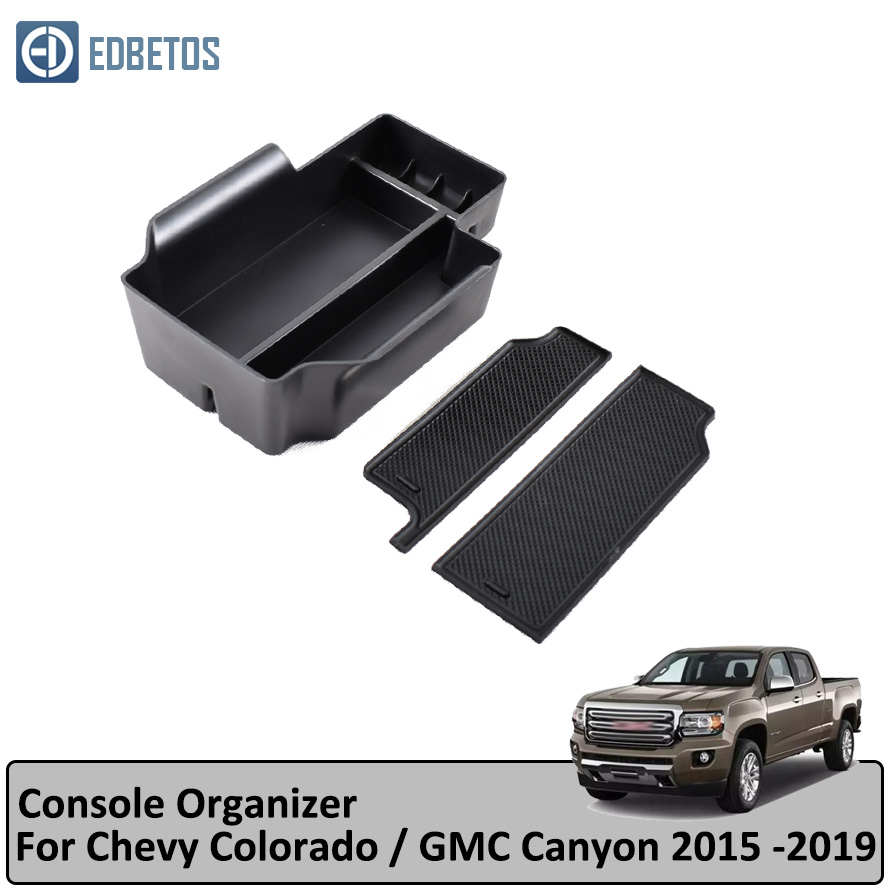 For Chevy Colorado 2015-2019 Car Center Console Organizer Storage Tray