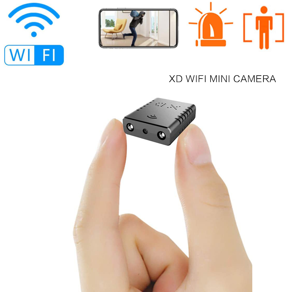 Plus petit HD 1080P Wifi XD Mini caméscope Vision nocturne Micro caméra détection de mouvement DV DVR caméra de sécurité soutien caché TF