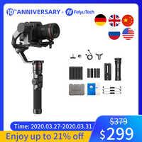FeiyuTech AK2000 estabilizador para cámara dslr de cardán portátil vídeo estabilizador para Sony Canon 5D Panasonic GH5 Nikon 2,8 kg de carga útil