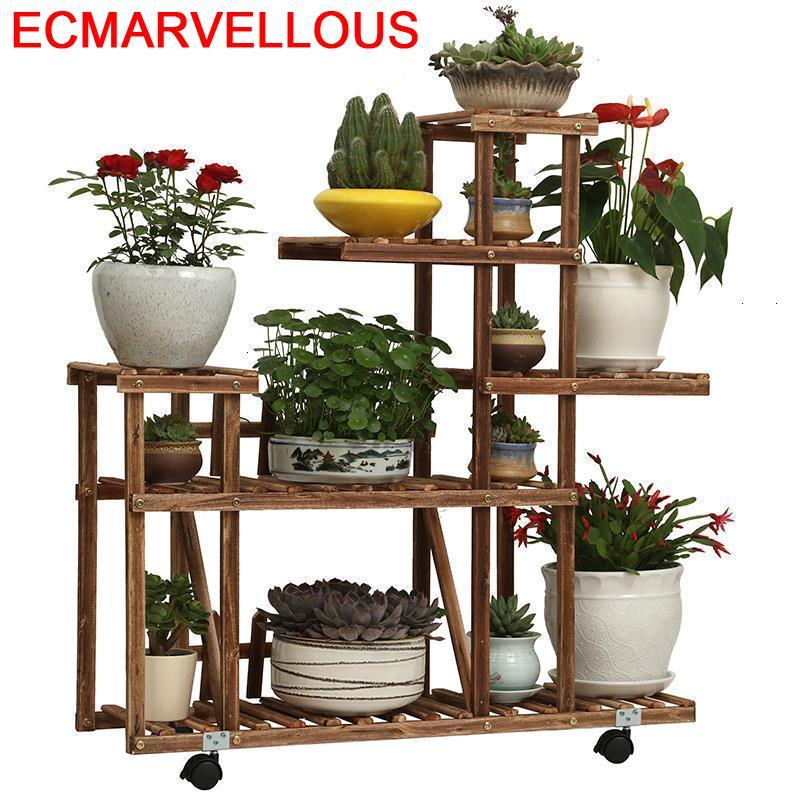 Para Stojaki Pot Escalera Soporte Interior Shelf Estanteria Plantas Outdoor Flower Dekoration Rack Stojak Na Kwiaty Plant Stand