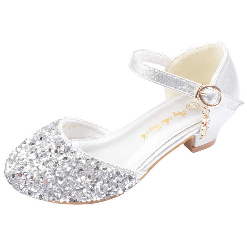 Children Shoes Glitter Princess Girls