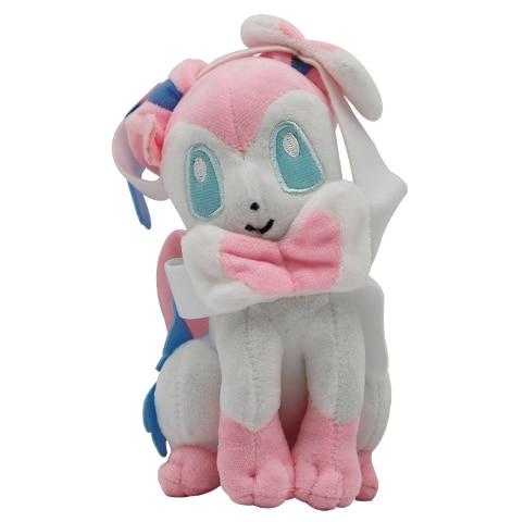 Anime Toys Hobbies Sylveon Cartoon Character Stuffed Animals Plush Kids Toys Great Gift