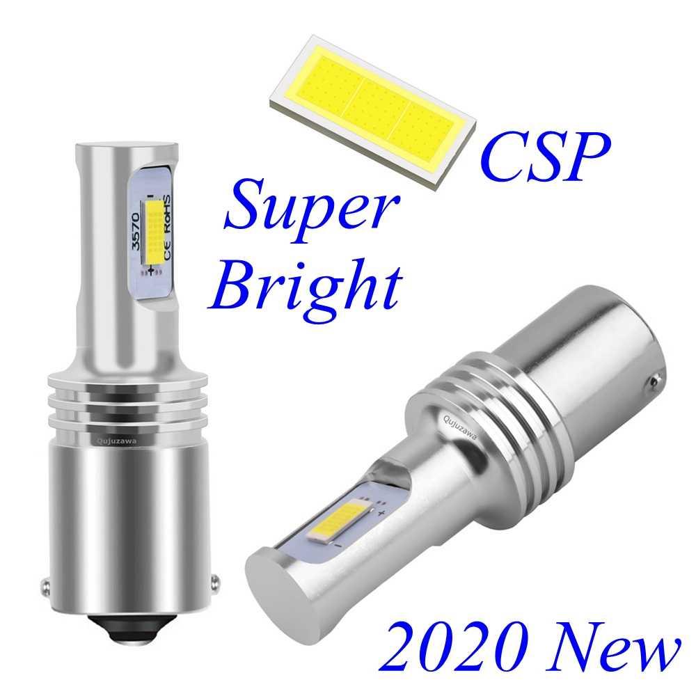 2 Pcs 1156 BA15S P21W 7506 R10W R5W Super Terang CSP LED Mobil Ekor Rem Lampu Otomatis Reverse Lampu Turn-Sinyal Sangat Jual, Siang Hari