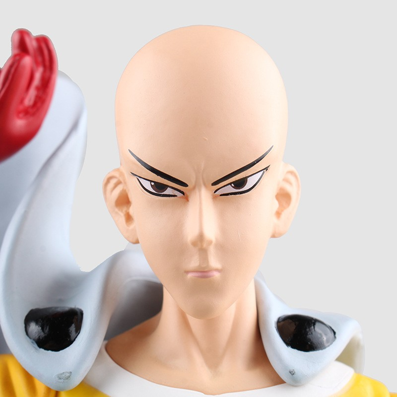 Экшн фигурки one punch man САЙТАМА сенсей ПВХ Фигурки 240 мм