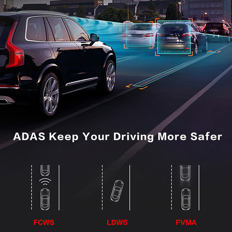 E-ACE E07 4G Dvr gps камера ADAS Android DVR Автоматическая Регистрация с gps-навигацией Full HD 1080P видео рекордер две камеры s Vehicele