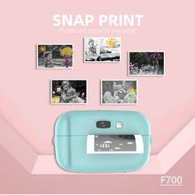 Print Camera Bluetooth Wireless Paper Photo Printer Pocket T