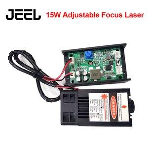 DIY лазерная машина фокусировка AdjustableTTL/ШИМ 15 Вт 450нм лазерная головка 15000 мВт синий лазерный модуль лазерный резак для ЧПУ гравировальный ста...
