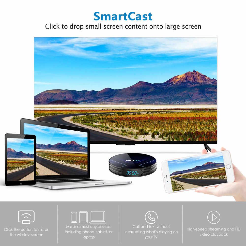 Android 9.0 HK1 X3 1000M Smart Tv Box Amlogic S905X3 8K 4 Gb 128 Gb 64 Gb 32 gb 2.4G E 5G Wifi 4K Media Player Tv Box Pk X96 Aria Ip