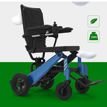 New design magnesium alloy lightweight handicapped joystick capacity of 180kg electric parts wheelchair