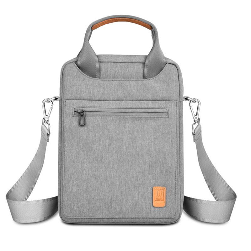 WIWU Tablet Bag for iPad Pro 9.7 10.2 10.5 11 Shockproof Handle Bags Cross-Body Bag for iPad Pro 2018 Shoulder Tablet Bag Case(China)