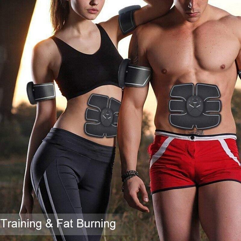 Galleria fotografica Black Smart Wireless Fitness Instrument Host Silica Gel Muscle Training Exercise Massage Machine Accessories Controller