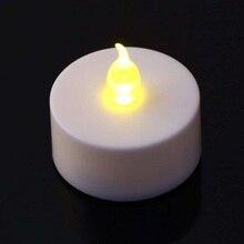 Led Plastic Simulation Electronic Light Small Tea Wax Environmentally Friendly Smoke-free Romantic Wedding Proposal Candle