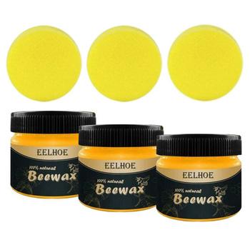 Meble EELHOE polerowanie wosk pszczeli meble mahoniowe specjalna konserwacja polerowanie odporność na pęknięcia tanie i dobre opinie Other Beeswax