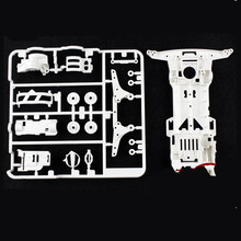 1PCS 4WD Car S2 Chassis Base Plate Protective Colorful Chassis 95248 95249 Spare Part for RC Tamiya Mini 4WD Car Model(China)