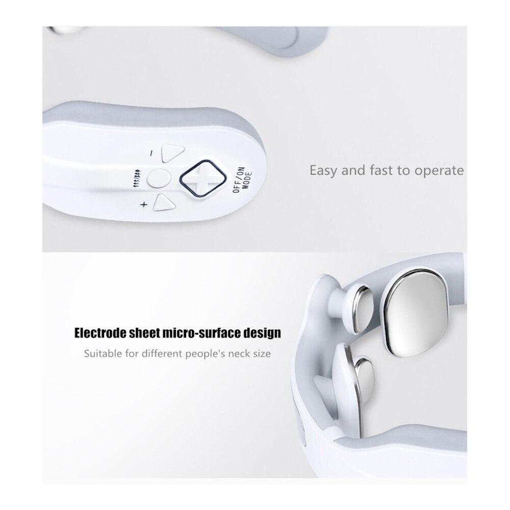 Inteligente elétrica pescoço e ombro massageador alívio