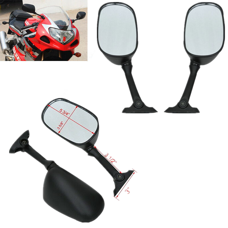 MFS MOTOR For 2005-2011 Suzuki GSX-R 1000 2006-2011 GSX-R 600//750 Motorcycle Rear View Side Mirrors