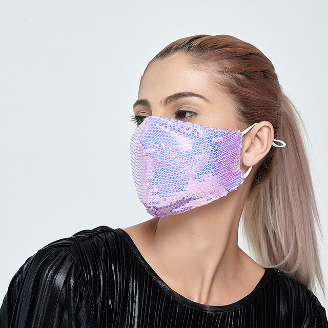 4set Cotton Black Mask Mouth Face Mask Anti PM2.5 Dust Mouth Mask  Activated Carbon Filter Mask Fabric Face Mask washable 3