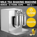 Пузырьковая Боба молочный шейкер для чая встряхивание машина миксер из нержавеющей молочный шейкер автоматический