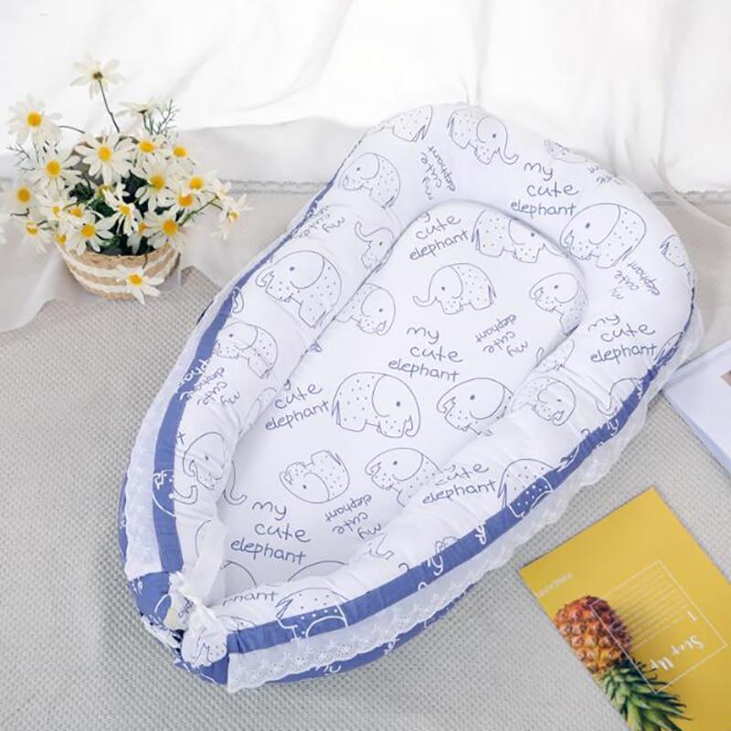Дорожная кроватка матрас для детской кровати спальная корзина мягкий хлопок гнездо портативная кроватка постельные принадлежности подушки открытый Дети Уход YAN007