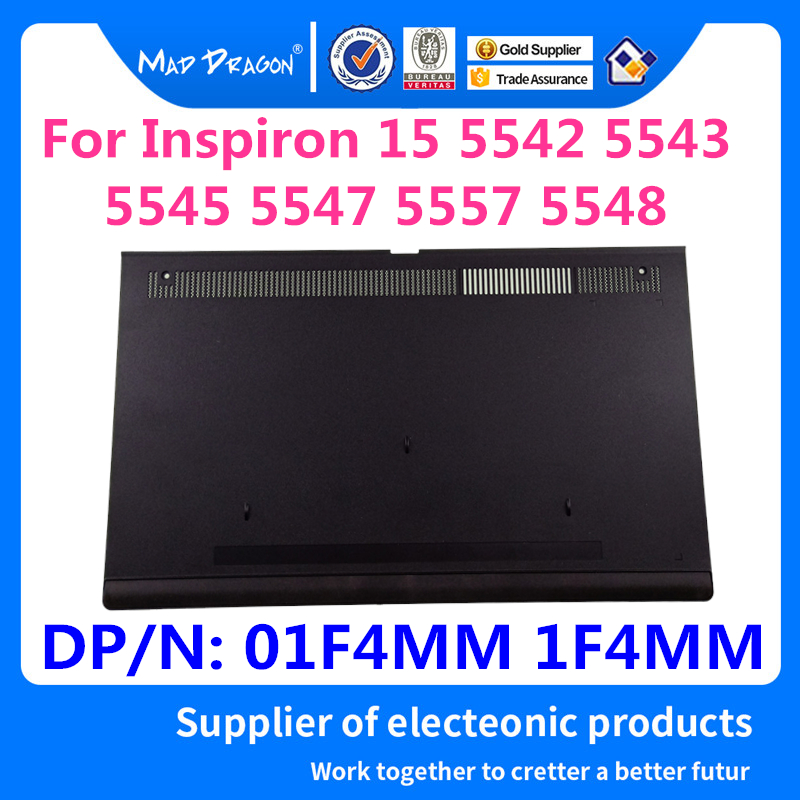 MAD DRAGON Brand Laptop New Bottom Access Panel Door Cover for Dell <font><b>Inspiron</b></font> 5545 <font><b>5547</b></font> 5548 5549 01F4MM 1F4MM AP13G000400 image