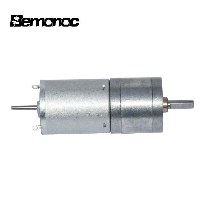 25GA370 DC Gear Motor 12V//24V 10~600RPM Lengthening shaft Installable Encoder