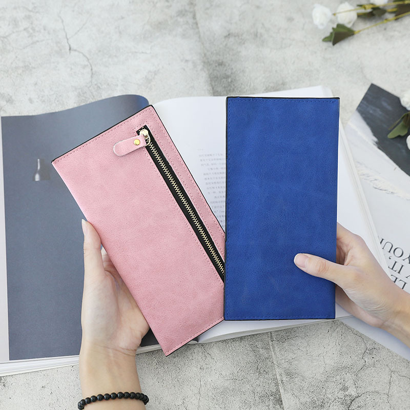 Women's Wallet Purses Fashion Brand Luxury Zipper Long Ladies Handbag Money Card Phone Holder Purse Women Leather Female Wallets