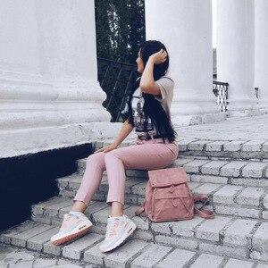 Image 5 - Женская Повседневная обувь Fujin, легкая дышащая обувь из сетчатого материала на платформе, кроссовки, 2020