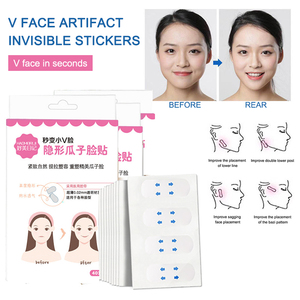 40Pcs/box V-shaped Face Lifting Slim Stickers Invisible Women Makeup Small Facial Lift Anti Wrinkle Sticker artifact Tool