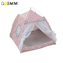2019 Summer Cat Tent Bed Breathable Comfort Pet Dog Outdoor Bed House Detachable Puppy Kennel For Cats House summer house