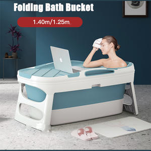 Bathtub-Cover Sauna Thickened-Tub Folding Large Child Home with Household Artifact