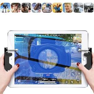 Image 5 - Controle de jogos para iphone pubgb, joystick com aderência, gatilho l1r1e botões de tiro para iphone e android