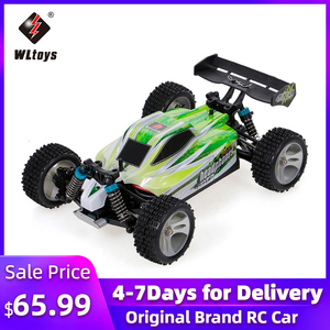RC Car WLtoys A959B 1/18 70Km/h High Speed Racing Car 540 Brushed Motor 4WD Off-Road Remote Control Electric Car RTR RC Toy(China)