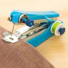 1 шт. Мини Путешествия Использование популярный портативный беспроводной мини ручной одежды ткань швейная машина S16