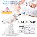 Корейский пистолет для гидролифтинга, мезотерапия EZ, пистолет для инъекций Микрокристаллической воды отрицательного давления, удаление мо...