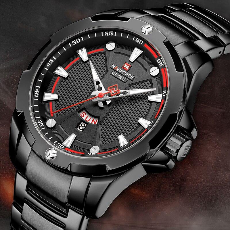 NAVIFORCE Men's Watches Top Brand Luxury Fashion Quartz Men Watch Waterproof Sports Male Military Wrist Watch Relogio Masculino