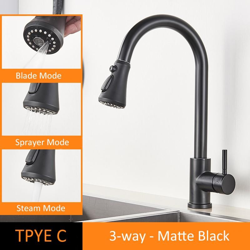 TYPE C Matte Black