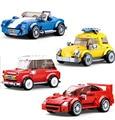 Sluban City Series гоночный автомобиль Транспортное средство гонщик строительные блоки модели наборы Обучающие DIY Детские Кирпичи Детские игрушки ...