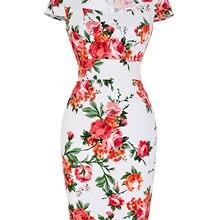 1950s 60s женское платье-карандаш в винтажном стиле до колена в горошек с цветочным принтом в клетку для деловых женщин и офиса облегающее платье размера плюс