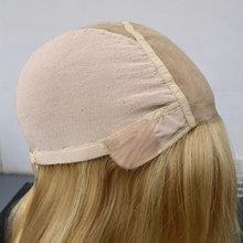 Hstonir Blonde Soie Perruque De Qualité Supérieure Droite Courte Bob Perruques De Cheveux Humains Cheveux Humains Perruques Casher Juives Européenne Remy Cheveux G039