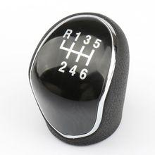 6 Speed Manual Stick Gear Shift Knob Lever Head Handball For Hyundai IX35 12 16 Dropshipping