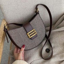 Vintage Handbags Pathwork Purses Totes Saddle Crossbody-Bags Shoulder-Messenger-Bags